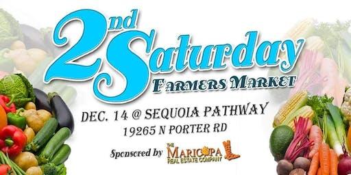 2nd Saturday Farmers Market, Vendor Registration for Dec 14, 2019