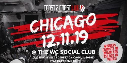 Coast 2 Coast LIVE   Chicago All Ages 12/11/19
