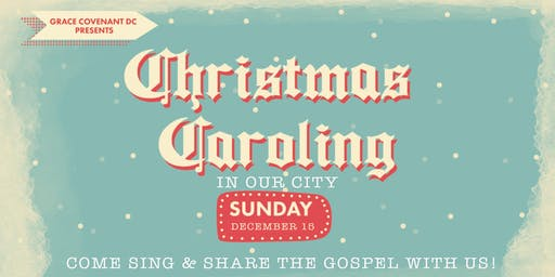 Christmas Caroling in Our City