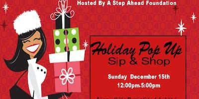 Holiday Pop Up Sip & Shop
