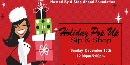 Holiday Pop Up Sip & Shop