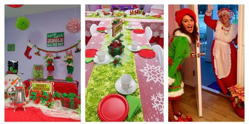 Very Merry Tea Party with Mrs. Claus