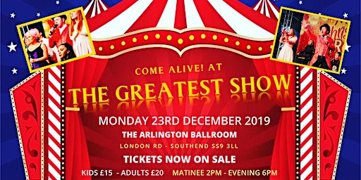 Come alive! At the Greatest Show