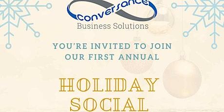 Holiday Social & Mixer tickets