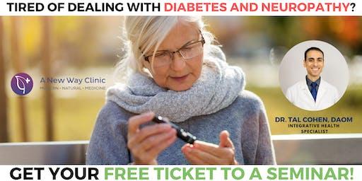 Diabetes & Neuropathy Seminar w/ Dr. Cohen , DAOM in  Hillsboro OR
