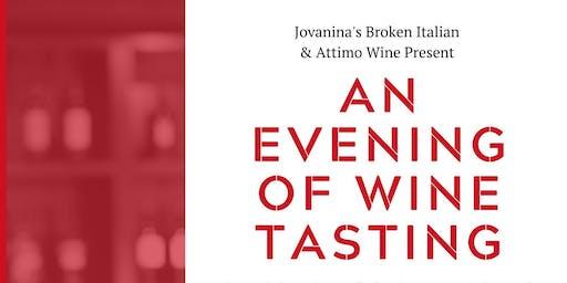 An Evening of Wine Tasting | An Attimo Wine Dinner at Jovanina's