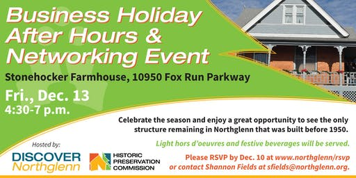 2019 Northglenn Business Holiday After Hours