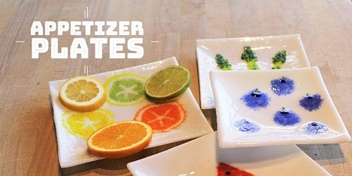 Appetizer Plate Class | Fusing Glass at db Studio
