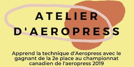 Atelier Aeropress billets