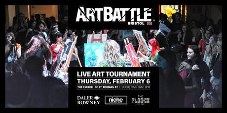 Art Battle Bristol - 6 February, 2020 tickets