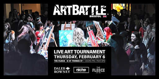 Art Battle Bristol - 6 February, 2020