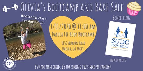 Olivia's Bootcamp and Bake Sale tickets
