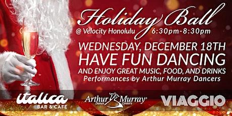 Holiday Ball  @ Velocity tickets