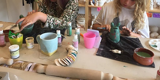 Play with Clay pottery classes for children