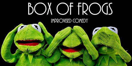 ImproFestUK2019 - Improv Comedy Mayhem From Box Of Frogs tickets