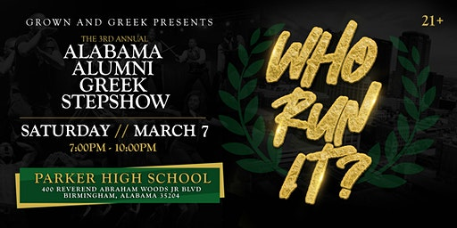 3rd Annual All Alumni Greek Step Show