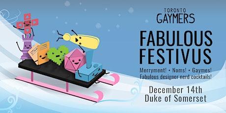 Fabulous Festivus! tickets