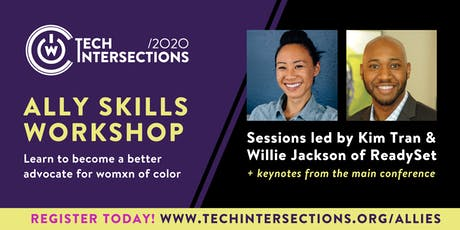2020 Tech Intersections Ally Skills Workshop tickets