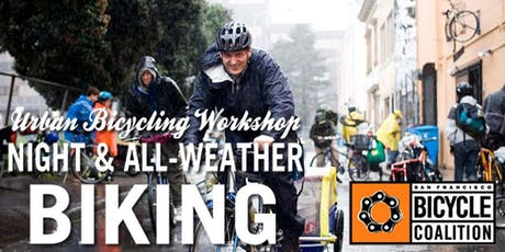 SF Bicycle Coalition Night and All-Weather Biking Class tickets