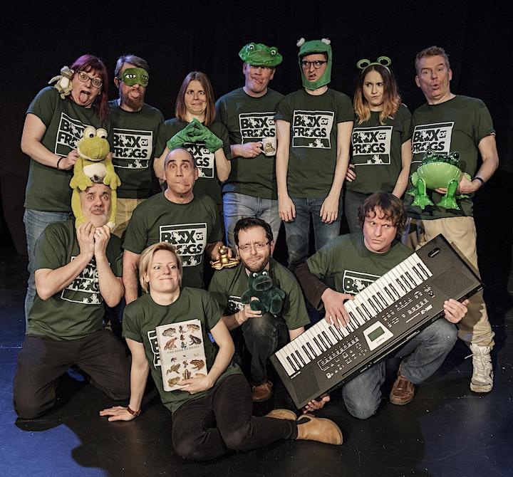 ImproFestUK2019 - Improv Comedy Mayhem From Box Of Frogs image