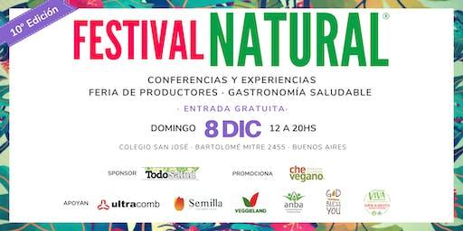 FESTIVAL NATURAL edición Verano 2019