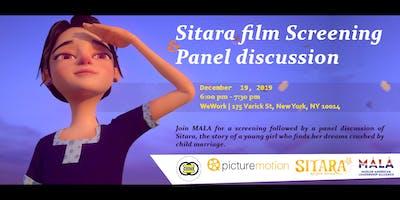SITARA Movie Screening & Panel Discussion