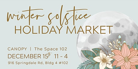 Winter Solstice Holiday Market tickets