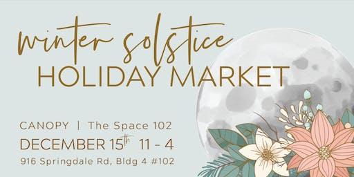 Winter Solstice Holiday Market
