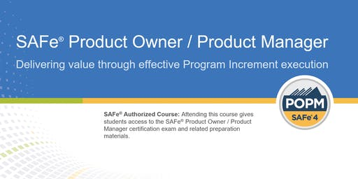 SAFe® Product Owner/Product Manager Certification Training in Toronto, Canada