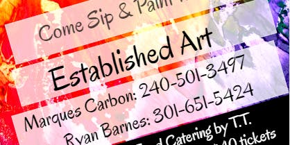 Sip & Paint with Established Art