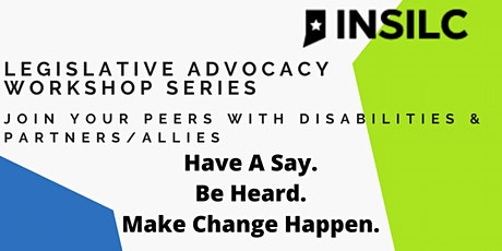 INSILC Legislative Advocacy Workshop Series tickets