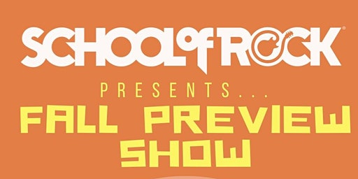 School of Rock Fall Preview Show