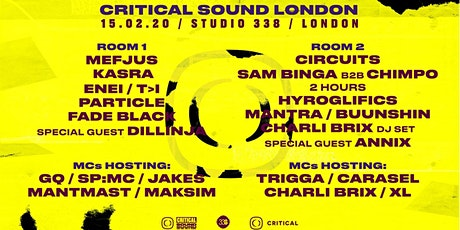 Critical Sound // London tickets