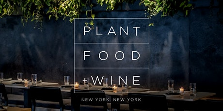 THANKSGIVING AT PLANT FOOD + WINE NYC tickets