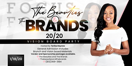 The Beauties and The Brands 20/20 Vision Board Brunch Party tickets