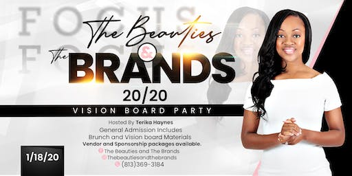 The Beauties and The Brands 20/20 Vision Board Brunch Party