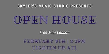 Open House at Skyler's Music Studio tickets