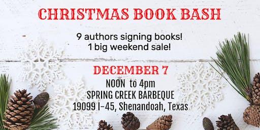 Christmas Book Bash
