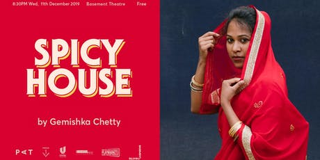 Fresh off the Page - SPICY HOUSE by Gemishka Chetty tickets