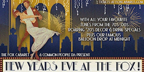 New Year's Eve at The Fox! tickets