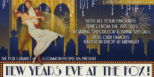 New Year's Eve at The Fox!