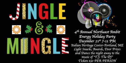 "4th Annual Ambit Northeast ""Jingle Mingle"" Holiday Party"