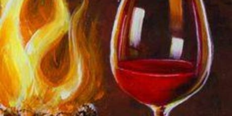 Paint by the fire at Brix and Hops tickets