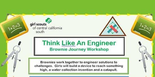 Think Like An Engineer - Brownie Journey - Madera
