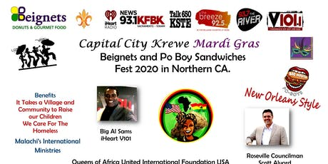 Capital City Krewe Mardi Gras Event & Beignets and Po Boy Fest 2020 tickets