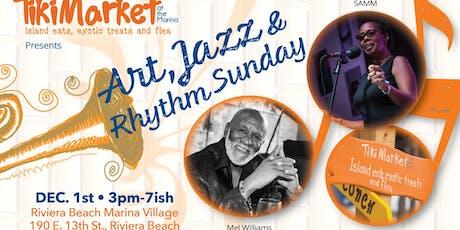 TikiMarket Art, Jazz & Rhythms tickets
