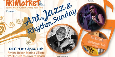 TikiMarket Art, Jazz & Rhythms tickets