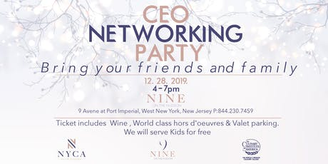 CEO networking party tickets