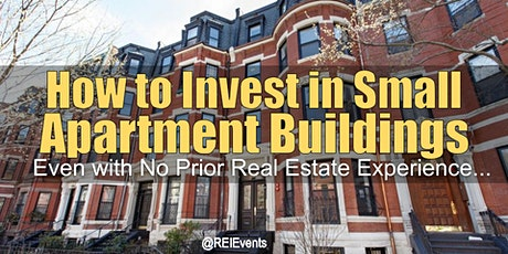 How to Invest in Small Apartment Buildings - Webinar tickets