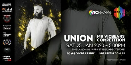 BearFEST - UNION - Mr VicBears 2020! tickets